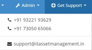 itassetmanagement.in screen support