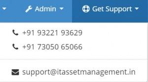 itassetmanagement.in screen support