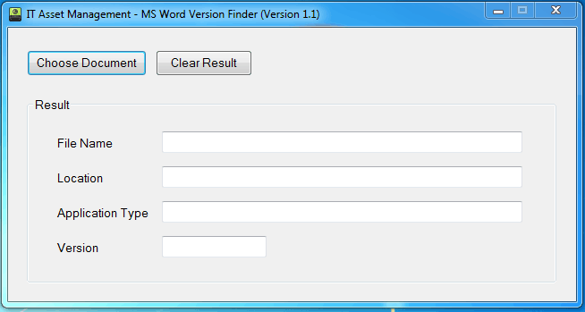 itassetmanagement.in microsoft word version finder