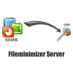 Cashback on file minimizer system