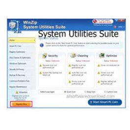 Cashback on winzip system utilities