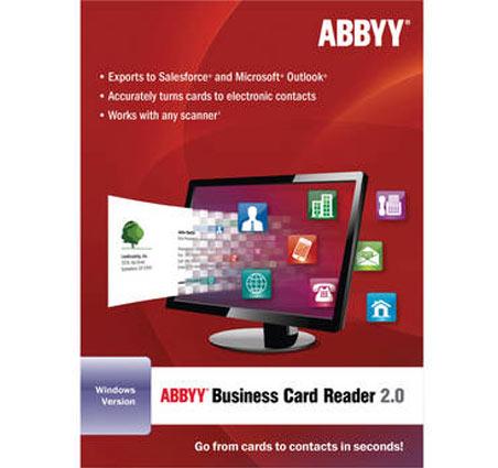Abbyy business card reader it asset management software abbyy business card reader colourmoves