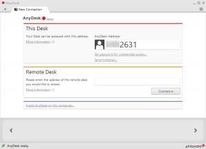 Anydesk Lite offer, a remote desktop software to manage on