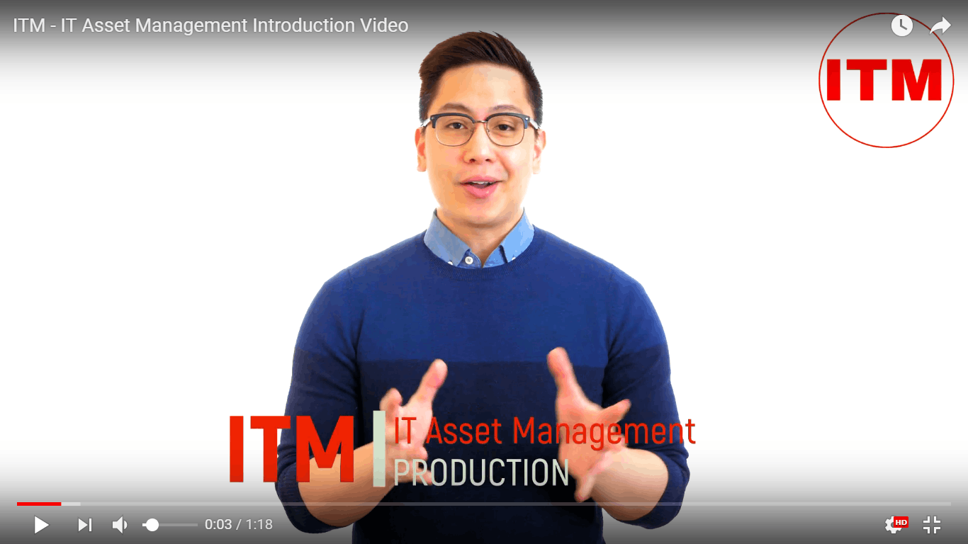ITM Introduction video cloud asset management